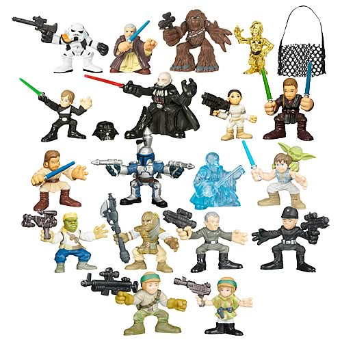 Star Wars Galactic Heroes 2008 Wave 1