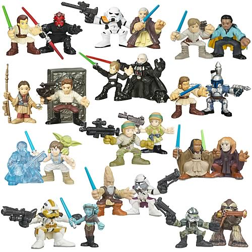 Star Wars Galactic Heroes 2008 Wave 2