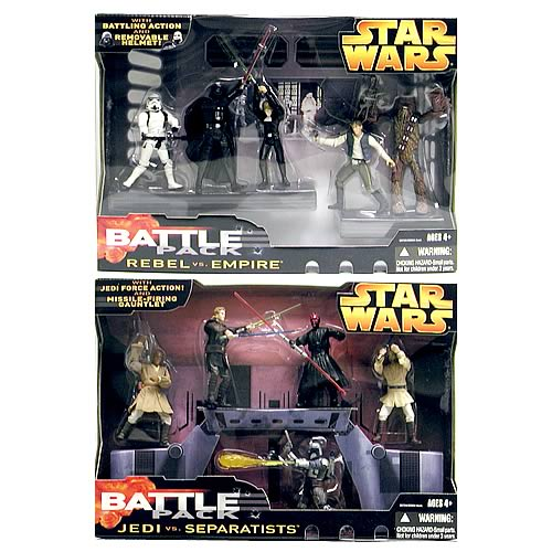 Star Wars Episode III Battlepack Wave 3 Case