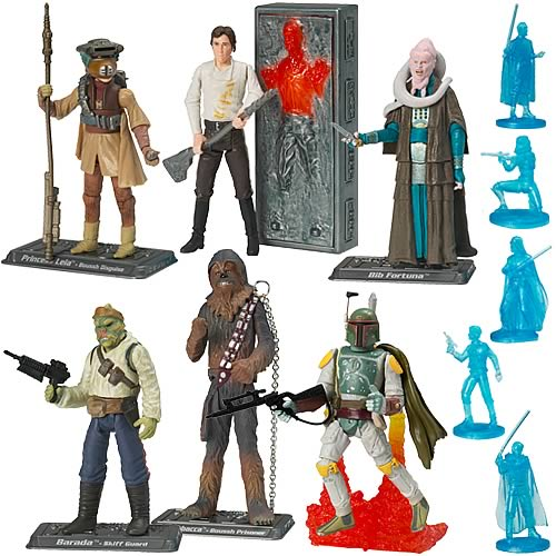 Star Wars Saga Figures Wave 1, Rev. 1 Set