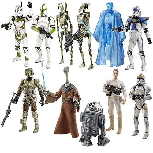 Star Wars Saga Figures Wave 9