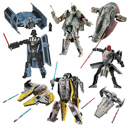 Star Wars Transformers Wave 2