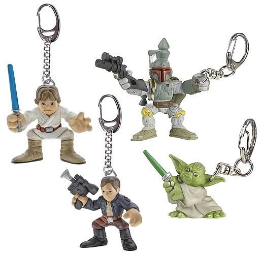 Star Wars Galactic Heroes Backpack Dangler Set