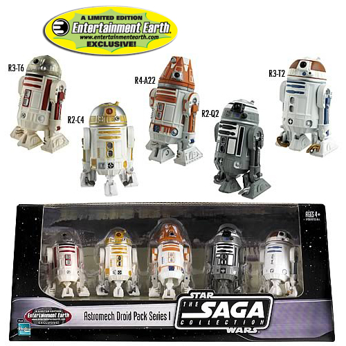 EE Exclusive Star Wars Astromech Droids #1 Action Figures