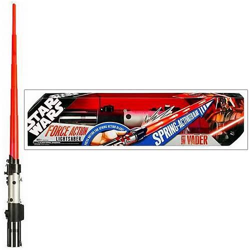 Star Wars Force Action Darth Vader Lightsaber