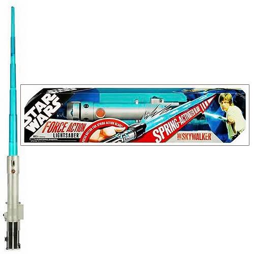 Star Wars Force Action Luke Skywalker Lightsaber