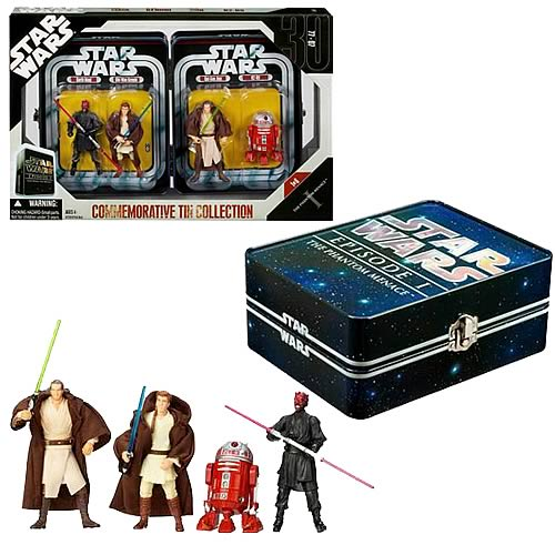 Star Wars Episode I Action Figure Tin