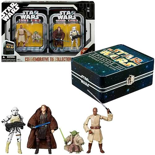 Star Wars Episode III Action Figure Tin
