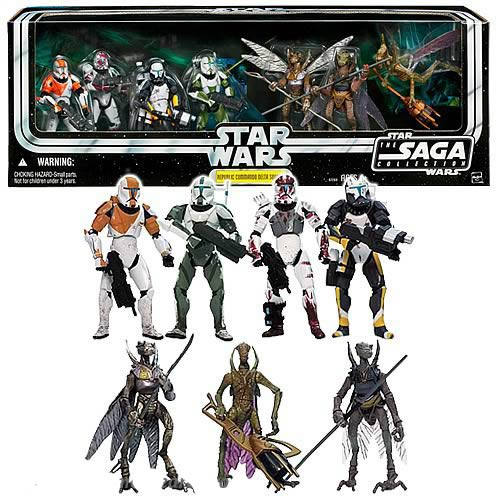 Star Wars Internet Exclusive Republic Commando Delta Squad