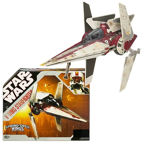 Star Wars V-Wing Starfighter Vehicle