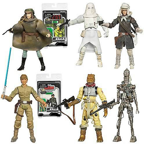 Star Wars 2007 Vintage Action Figures Case