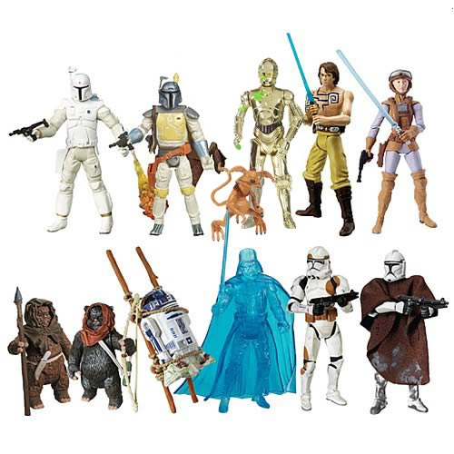 Star Wars 30th Anniversary Figures Wave 8 Revision 1