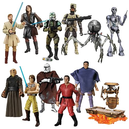 Star Wars 2008 Action Figures Wave 1