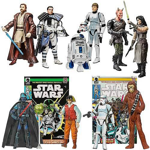 Star Wars Expanded Universe Figure Comic Packs Wave 2