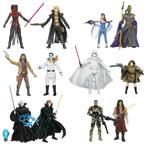 Star Wars Legacy Action Figure Comic Packs Wave 4