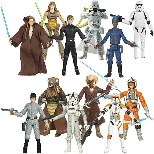 Star Wars Legacy Collection Action Figures Wave 12 Rev. 1