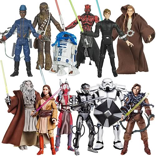 Star Wars Legacy Collection Action Figures Wave 13 Case