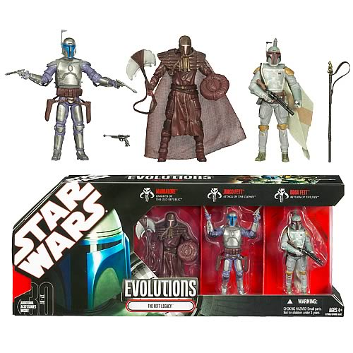 Star Wars Evolutions The Fett Legacy Action Figures