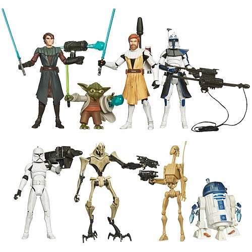 Star Wars Clone Wars Action Figures Wave 1