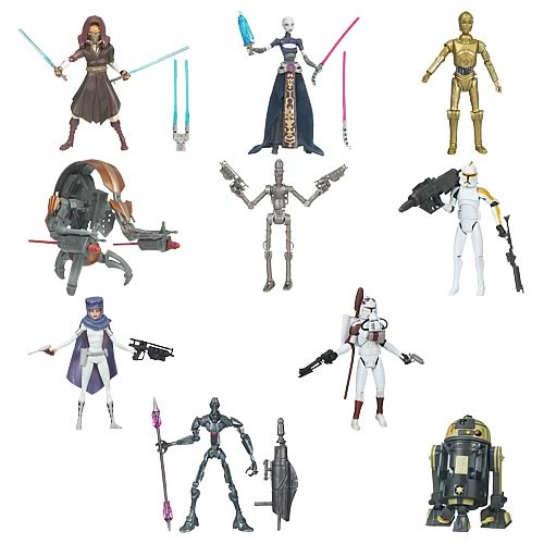Star Wars Clones vs Droides Star Wars Clone Wars Action