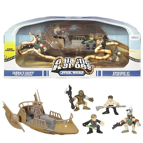 Star Wars Galactic Heroes Pit of Carkoon Set