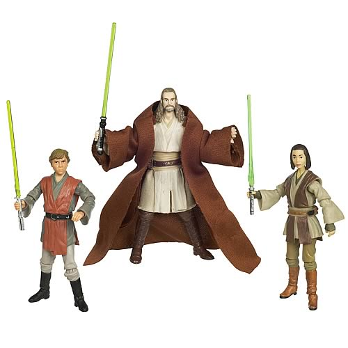 All Star Wars Toys : Star wars evolutions the jedi legacy action figures