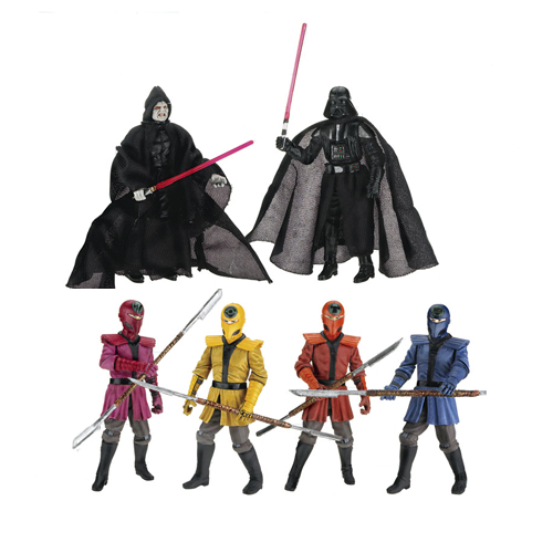 Star Wars Crimson Empire Crucible Action Figures Exclusive