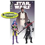 EE Exclusive Star Wars Figures Darth Nihl and Deliah Blue