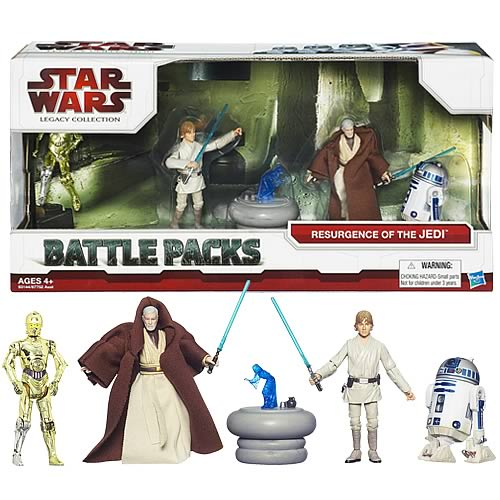 Star Wars Resurgence of the Jedi Action Figures Battle Pack