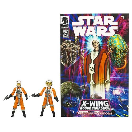 Exclusive Star Wars Dllr Nep & Plourr Ilo Figure Comic Pack