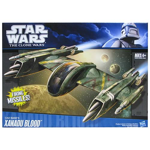 Star Wars Clone Wars Cad Bane Xanadu Blood Vehicle