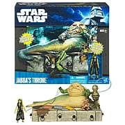 Star Wars Exclusive Jabba the Hutts Throne Playset