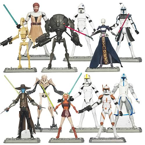 Star Wars Clone Wars Action Figures Wave 2
