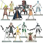 Star Wars Clone Wars Action Figures Wave 3 Revision 1