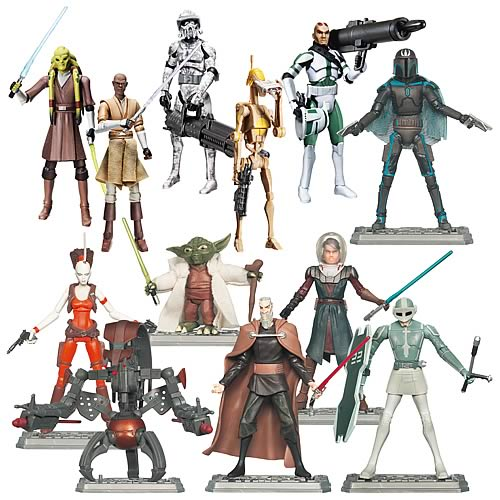 Star Wars Clone Wars Action Figures Wave 3