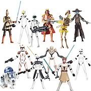 Star Wars Clone Wars Action Figures Wave 4