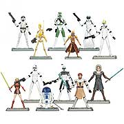 Star Wars Clone Wars Action Figures Wave 4 Revision 1