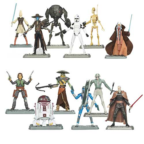 Star Wars Clone Wars Action Figures Wave 5