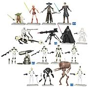 Star Wars Clone Wars Battle Packs Wave 1
