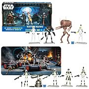 Star Wars Clone Wars Battle Packs Wave 4