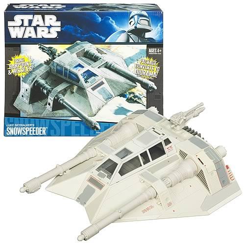 Star Wars Luke Skywalker's Snowspeeder Vehicle