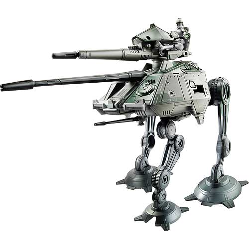 Star Wars Clone Wars At Ap Republic Walker Vehicle Hasbro Star Wars Vehicles At