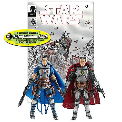 EE Exclusive Star Wars Figures Jaster Mereel and Montross