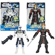 Star Wars Clone Wars Force Battlers Wave 1 Set