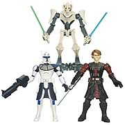 Star Wars Clone Wars Force Battlers Wave 2 Set