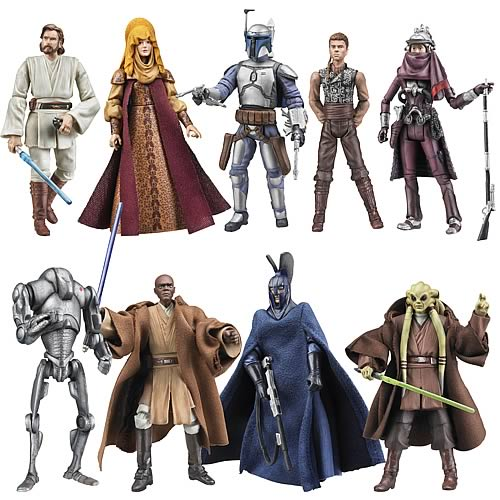 Star Wars Action Figures Vintage Wave 4 Case