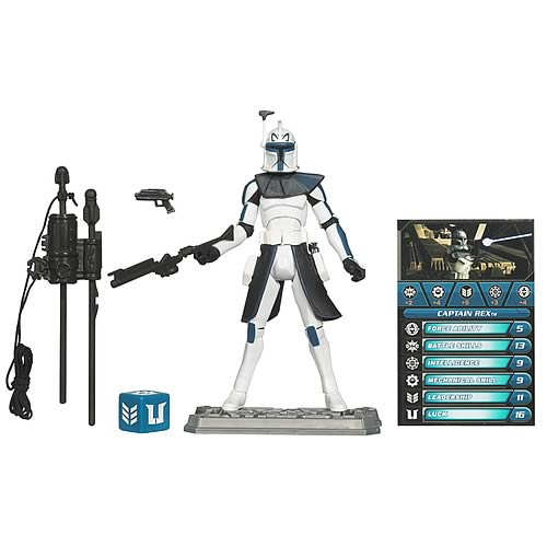 Star Wars Clone Wars Clone Captain Rex Action Figure