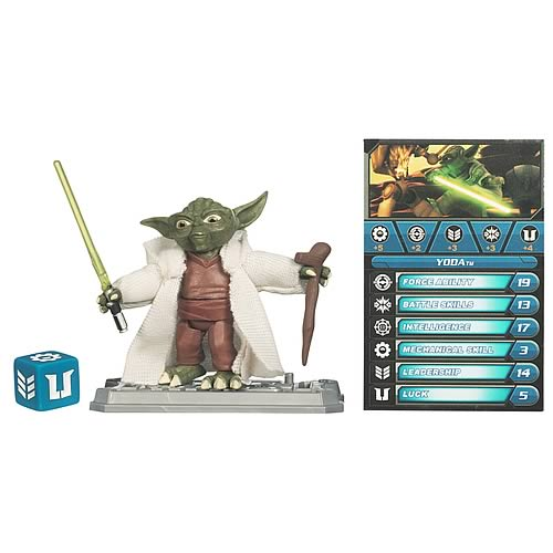 Star Wars Clone Wars Yoda Jedi Master Action Figure