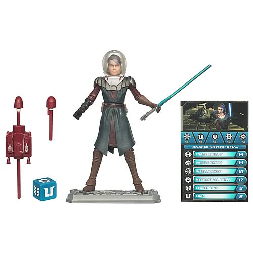 Star Wars Clone Wars Anakin Skywalker (Space Suit) Figure