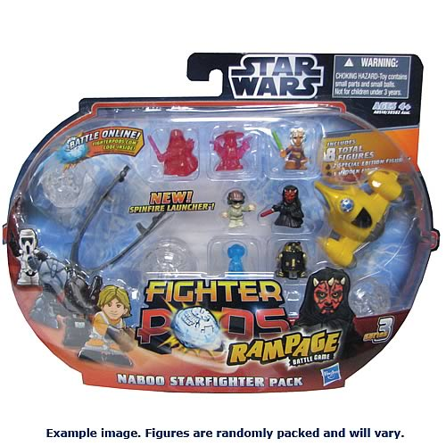 Star Wars Fighter Pods Series 3 Naboo Fighter 8-Pack